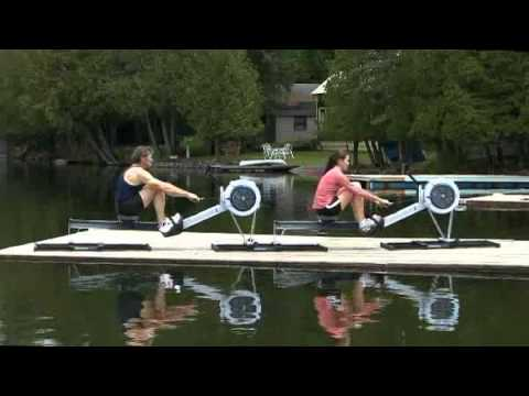 Rowing on Slides