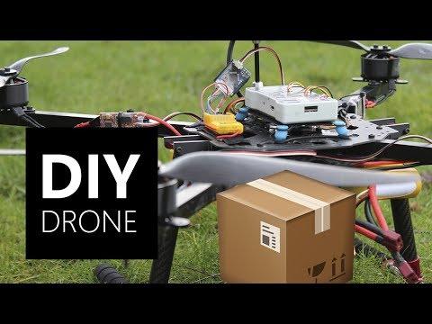 DIY Autonomous Delivery Drone - Working!