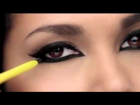 5 Different Ways To Apply Kajal/How To Apply Kajal In Different Ways||TipsToTop By Shalini