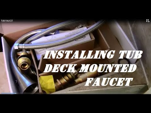How To Install Jacuzzi Faucet