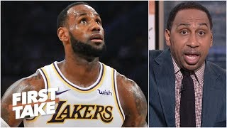 Download LeBron needs to focus on bringing a championship to the Lakers – Stephen A. | First Take Video