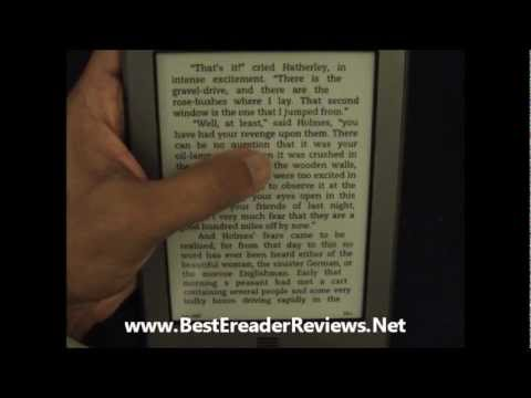 Amazon Kindle Touch Refresh Rates