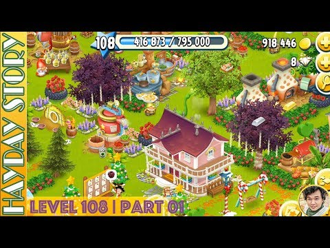 Resuming 8 Steps in Hay Day Level 108 | Part 01