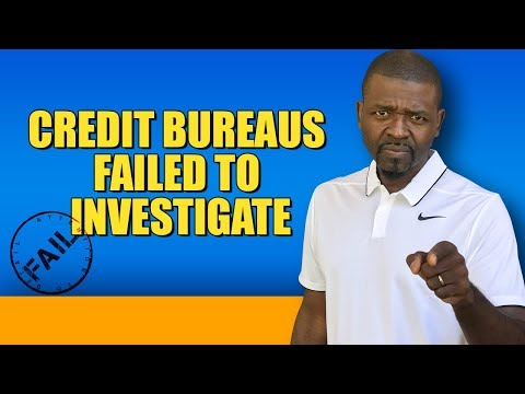 Credit Repair: Help, The Credit Bureaus Did Not Respond to My Dispute