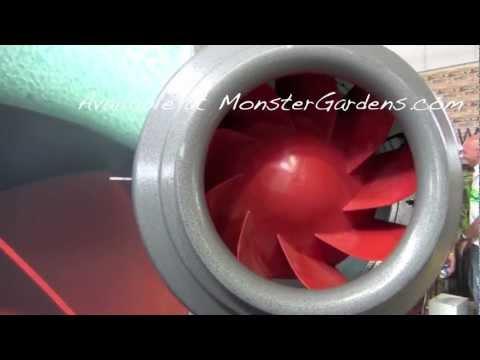 Vortex V Series Inline Power Fan -Most Powerful Vortex Duct Fan for Garden Vortex 12