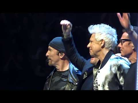 U2 - 2018 - City Of Blinding Lights (HD) - From Boston 6-22-2018 (Section 21 Row 1 Seat 1)