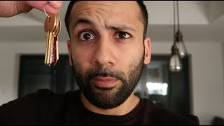 RamaVlog Day 28 - KEYS TO OUR NEW HOME!