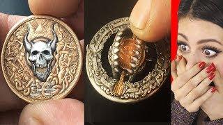 Coins Have Hidden TRAPS and SECRET LEVERS