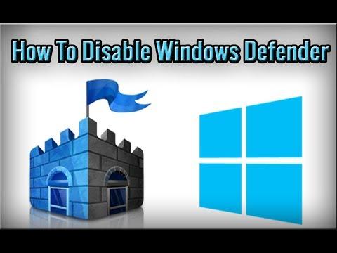 How To Disable Windows Defender In Windows 10 In Urdu/Hindi