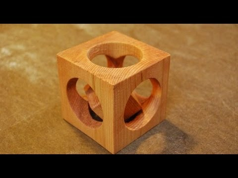 How to Make a Cube In a Cube (woodlogger.com)