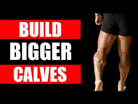 HOW TO GET BIGGER CALVES FAST! | 4 EXERCISES YOU NEED TO DO TO BUILD BIG CALF MUSCLES!