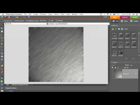 Make a Simple Metal Texture in Photoshop - Quick Tip #1