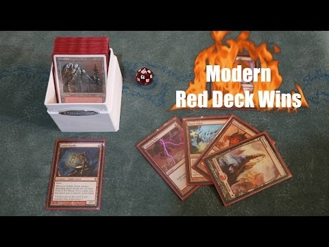 Are You STILL Not Playing Modern? Blast in with Red Deck Wins! Magic: The Gathering - MTG