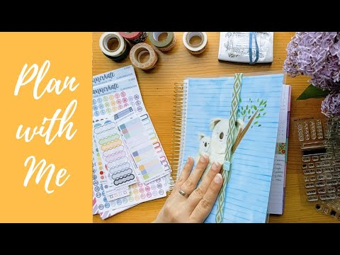 May 2018 Planner Set-up || Time Lapse