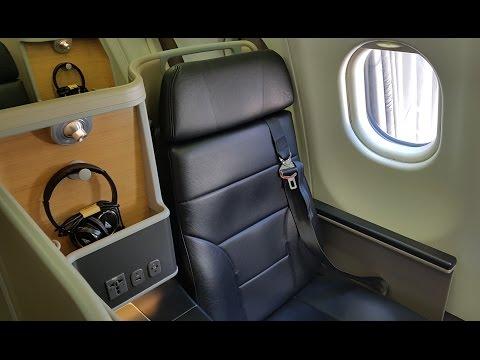 Qantas Business Class A330 domestic