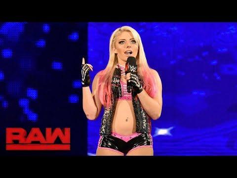 Xxx Mp4 Alexa Bliss Crashes Sasha Banks 39 Raw Women 39 S Title Celebration Raw Aug 21 2017 3gp Sex