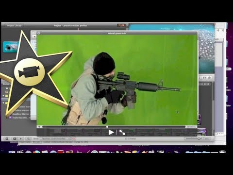 iMovie Green Screen Quality Issues Resolved