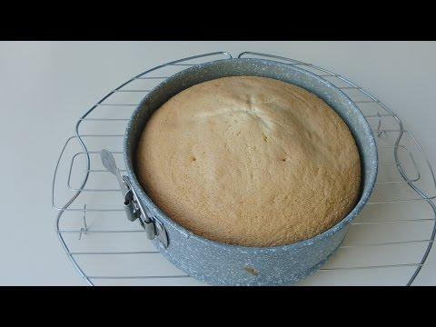 3 Ingredients Sponge cake