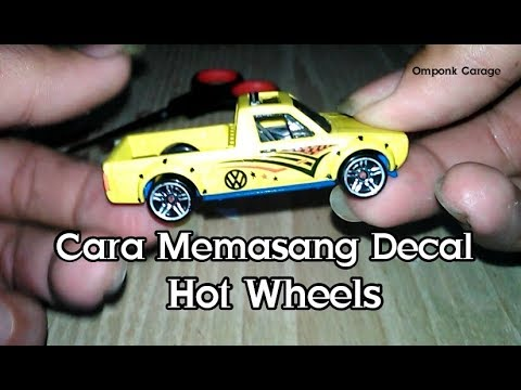 Omponk Garage - Cara Mudah pasang DECAL ( Decal / Tampo ) ~ VW Caddy #TUTORIAL