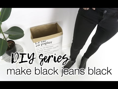 How to make black jeans black again | Fix your wardrobe series