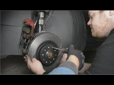 How to install DBA rotors on a Golf GTI