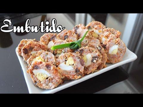 Filipino Style Meatloaf (Embutido)
