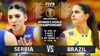 Serbia vs Brazil - Highlights | Women's World Championship 2018