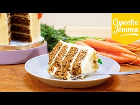 The BEST Carrot Cake You'll Ever Make - FACT! | Cupcake Jemma
