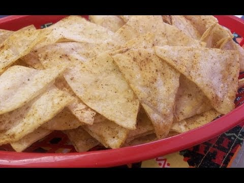 How to Make Homemade Baked Corn Tortilla Chips