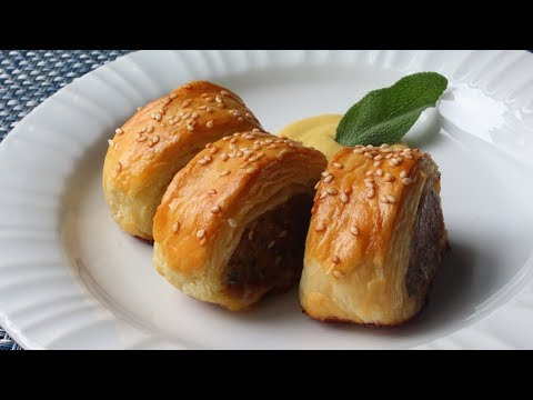 Sausage Rolls Recipe - How to Make Sausage Rolls