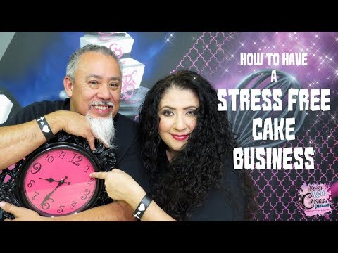 STRESS FREE Cake Business HOW TO! Cake Biz Video Series