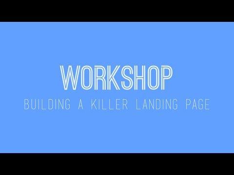 Free Wix Workshop - Building A Killer Landing Page in Wix - Wix My Website