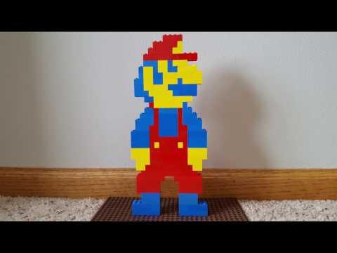 How to Build a Big Lego SMB Mario