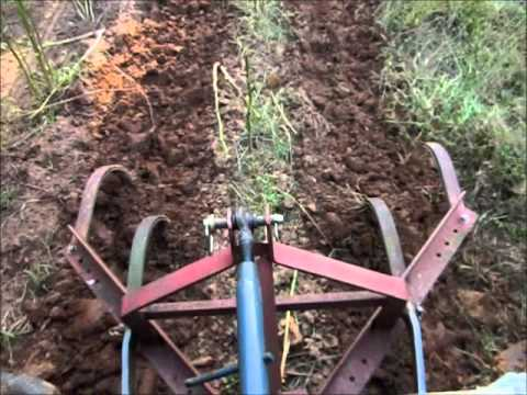 3 Point Cultivator for weed control in a large garden