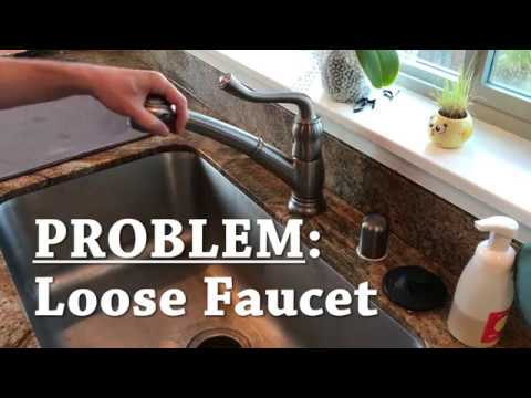 How To 001 - Loose Faucet