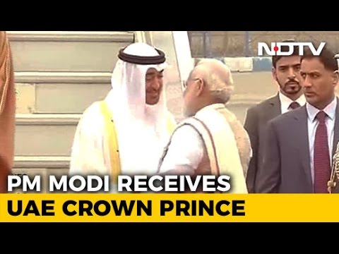 PM Modi Receives Republic Day Chief Guest Crown Prince Of Abu Dhabi