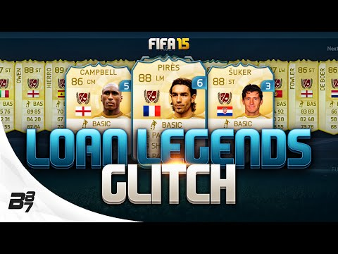 LOAN LEGENDS GLITCH! WTFFFF! | FIFA 15 ULTIMATE TEAM