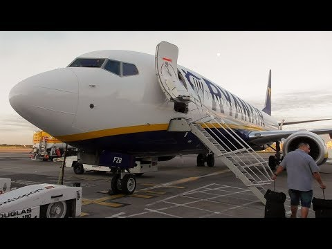 Ryanair Boeing 737-8AS Manchester to Hamburg | Full Flight + New Cabin!