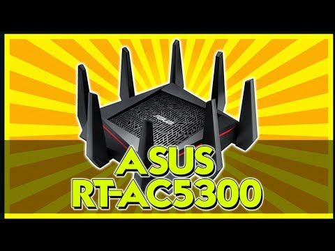 THE BEST ROUTER FOR GAMING? - ASUS AC5300