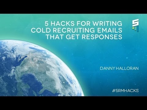 5 Hacks for Writing Cold Recruiting Emails That Get Responses