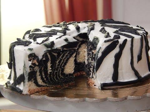 Zebra Cake | Sanjeev Kapoor Khazana