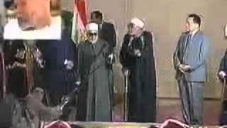 كلمة الشيخ الشعراوى للرئيس المخلوع محمد حسنى مبارك