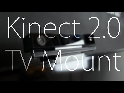 Mount Xbox One Kinect on Top of TV
