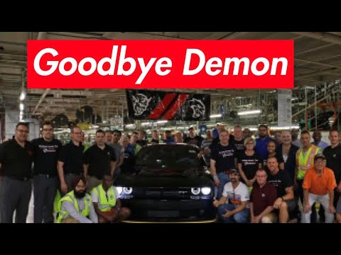 THE LAST DODGE DEMON EVER MADE! NO MORE DEMON!