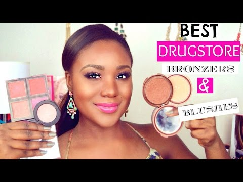 BEST DRUGSTORE BRONZERS & BLUSHES for Black Women/ Dark Skin / Women of Color