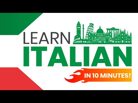 Speak Italian in 10 minutes: 9 Fast Lessons and Strategies to Learn How to Speak Italian NOW