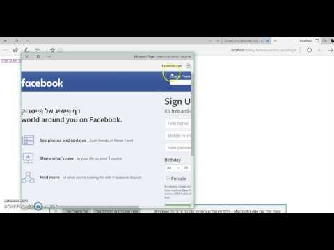 Fake URL facebook+SSL