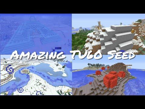 Minecraft Xbox / PlayStation TU60 Seed - Mushroom Island, Snow Biome, Sea Temple & Llamas