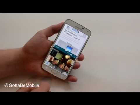 How to Use Multi Window Mode on the Galaxy S5