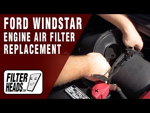 How to Replace Engine Air Filter 2002 Ford Windstar V6 3.8L
